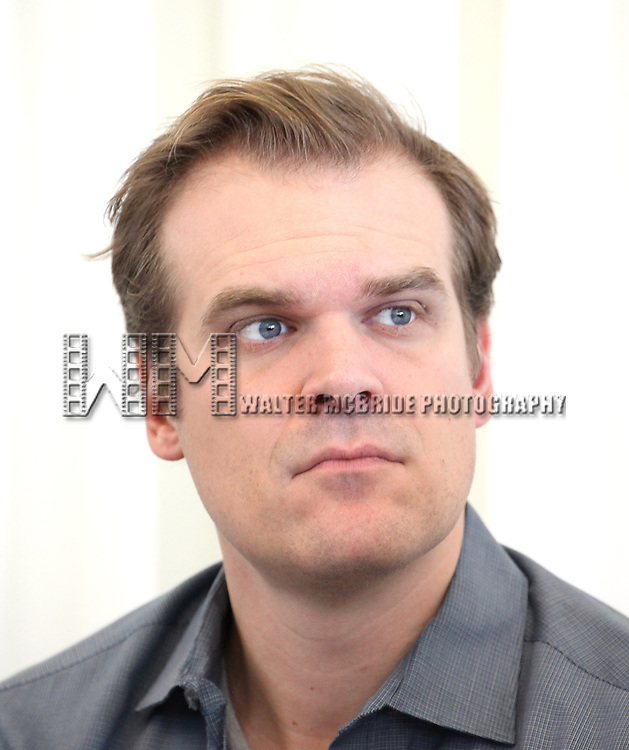 David Harbour attending the 'Glengarry Glen Ross' Media Day at Ballet Hispanico Rehearsal Studios in New York City on 9/19/2012.