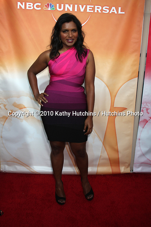 LOS ANGELES - JUL 30:  Mindy Kaling arrive(s) at the 2010 NBC Summer Press Tour Party at Beverly Hilton Hotel on July 30, 2010 in Beverly Hills, CA...