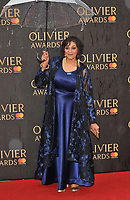 Meera Syal at the Olivier Awards 2018, Royal Albert Hall, Kensington Gore, London, England, UK, on Sunday 08 April 2018.<br /> CAP/CAN<br /> &copy;CAN/Capital Pictures<br /> CAP/CAN<br /> &copy;CAN/Capital Pictures