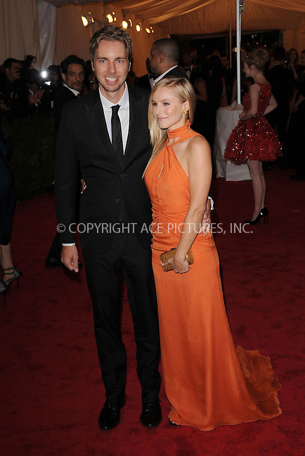 "WWW.ACEPIXS.COM . . . . . .May 7, 2012...New York City...Kristen Bell and Dax Shepard attending the ""Schiaparelli and Prada: Impossible Conversations"" Costume Institute Gala at The Metropolitan Museum of Art in New York City on May 7, 2012  in New York City ....Please byline: KRISTIN CALLAHAN - ACEPIXS.COM.. . . . . . ..Ace Pictures, Inc: ..tel: (212) 243 8787 or (646) 769 0430..e-mail: info@acepixs.com..web: http://www.acepixs.com ."