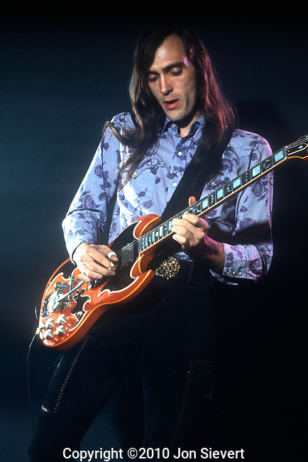 John Cipollina, August 1972. American guitarist best known for his role as a founder and the lead guitarist of the San Francisco rock band Quicksilver Messenger Service.