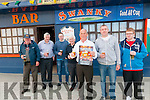 Big Beer Race: Pictured to announce the Big Beer Race to be held in Tarbert on Monday May 5th at the Swankey Bar, Tarbert were Tom Enright, JP Prenderville, Andrew Gubbins, Billy Gilroy, Denis Kiely, Mike Finucane & Jason Walsh.