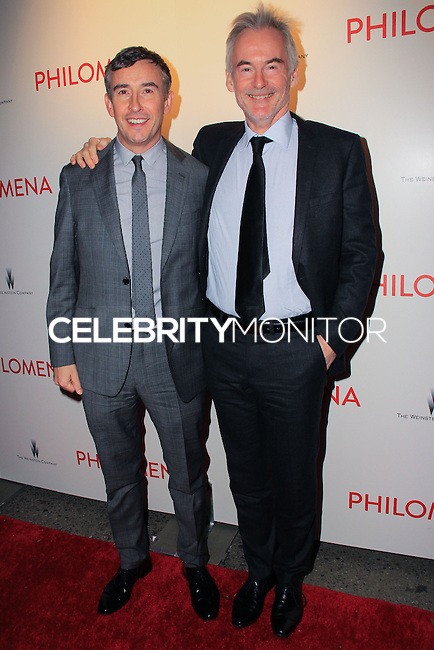 "NEW YORK, NY - NOVEMBER 12: Steve Coogan, Martin Sixsmith at the New York Premiere Of The Weinstein Company's ""Philomena"" held at Paris Theater on November 12, 2013 in New York City. (Photo by Jeffery Duran/Celebrity Monitor)"
