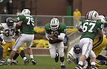 15062Ohio Football vs. Kent 2001 Homecoming action shots