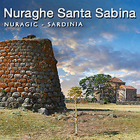 Nuraghe & Church of Santa Sabina, Sardinia - Pictures & Images -