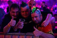 GRONINGEN - Darten, King of Darts, Martiniplaza, 22-01-2019, dart fans van Peter Wright