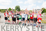 Start line of Barraduff Community 5k Fun run, jog, walk in Barraduff Community field last Sunday.