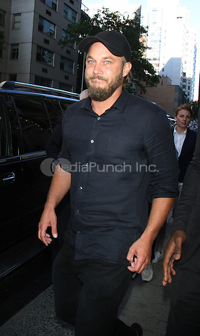 NEW YORK, NY-June 08: Travis Fimmel at AOL BUILD to talk about new movie Warcraft in New York. NY June 08, 2016. Credit:RW/MediaPunch