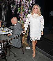 "Carol Harrison at the ""The Thunder Girls"" book launch party, The Court, Kingly Street, London, England, UK, on Tuesday 02nd July 2019.<br /> CAP/CAN<br /> ©CAN/Capital Pictures"