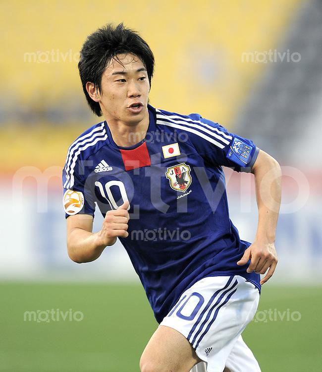 Fussball AFC Asian Cup 2011    09.01.2011 Japan - Jordanien Shinji Kagawa (Japan)