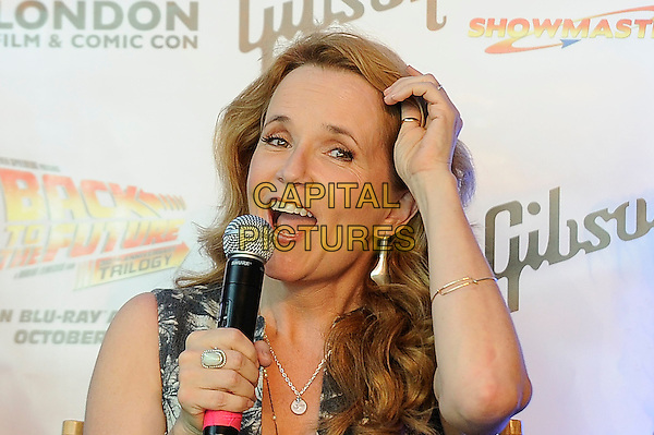LONDON, ENGLAND - JULY 19: Lea Thompson attending the London Film and Comic Con at Olympia London, on July 19, 2015 in London, England.<br /> CAP/MAR<br /> &copy; Martin Harris/Capital Pictures