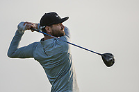 Kyle Stanley (USA) watches his tee shot on 11 during day 1 of the Valero Texas Open, at the TPC San Antonio Oaks Course, San Antonio, Texas, USA. 4/4/2019.<br /> Picture: Golffile | Ken Murray<br /> <br /> <br /> All photo usage must carry mandatory copyright credit (© Golffile | Ken Murray)