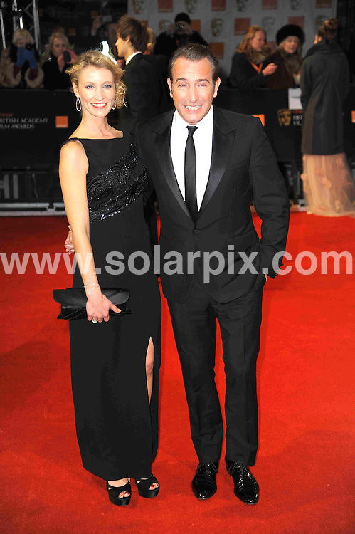**ALL ROUND PICTURES FROM SOLARPIX.COM**                                             **WORLDWIDE SYNDICATION RIGHTS**                                                                                  Caption: Orange British Academy Film Awards at The .Royal Opera House in Covent Garden London                                                                              This pic:  Jean Dujardin                                                                          JOB REF:14467        MSR       DATE: 12.02.2012                                                           **MUST CREDIT SOLARPIX.COM OR DOUBLE FEE WILL BE CHARGED**                                                                      **MUST AGREE FEE BEFORE ONLINE USAGE**                               **CALL US ON: +34 952 811 768 or LOW RATE FROM UK 0844 617 7637**