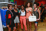 Guests attend the African Health Now - Fashion Fete event, at the Tracy Reese store on 641 Hudson Street, June 20, 2013.