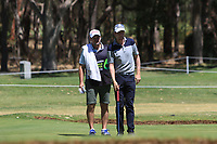Aaron Price (AUS) in action on the 10th during Round 3 of the ISPS Handa World Super 6 Perth at Lake Karrinyup Country Club on the Saturday 10th February 2018.<br /> Picture:  Thos Caffrey / www.golffile.ie<br /> <br /> All photo usage must carry mandatory copyright credit (&copy; Golffile | Thos Caffrey)
