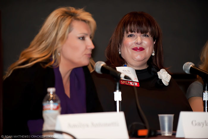 Amilya Antonetti, CEO, AMA Productions; founder, Soapworks (l) and Gayla Bentley, founder, Gayla Bentley Fashion Group
