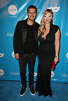 LOS ANGELES, CA - OCTOBER 27:  Gleb Savchenko, Elena Samodanova, at UNICEF Next Generation Masquerade Ball Los Angeles 2017 At Clifton's Republic in Los Angeles, California on October 27, 2017. Credit: Faye Sadou/MediaPunch /NortePhoto.com