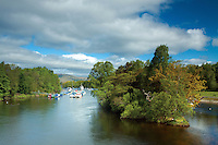 The River Leven from Balloch, West Dunbartonshire