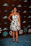 January 11, 2010:  Jenna Ushkowitz arrives at the Fox All Star Party at the Villa Sorisso in Pasadena, California.Photo by Nina Prommer/Milestone Photo