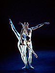 English National Ballet performing Voluntaries choreographed by Glen Tetley. Nathan Coppen, Daria Klimentova.