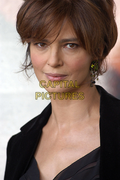 "LAURA MORANTE.Photocall for ""L'Empire Des Loups"" at Warner Cinema, Rome, Italy.September 27th, 2005.headshot portrait.www.capitalpictures.com.sales@capitalpictures.com.© Capital Pictures."