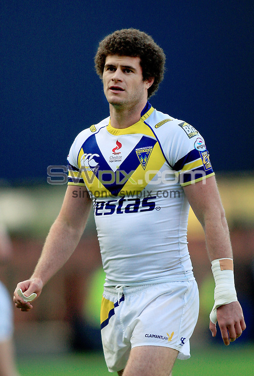 Pix: Chris Mangnall/SWpix.com, Rugby League Super League. Magic Weekend Murrayfield Edinburgh 03/05/09 Warrington Wolves v Hull KR....picture copyright>>Simon Wilkinson>>07811267 706>>....Warrington's (4) Matt King