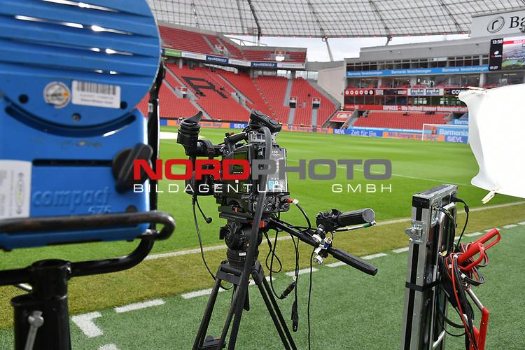 28.01.2018, BayArena, Leverkusen , GER, 1.FBL., Bayer 04 Leverkusen vs. 1. FSV Mainz 05<br /> im Bild / picture shows: <br /> Feature Filmger&auml;te <br /> <br /> <br /> Foto &copy; nordphoto / Meuter