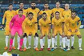 23rd March 2018, Ullevaal Stadion, Oslo, Norway; International Football Friendly, Norway versus Australia; Australia team line up