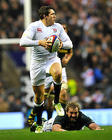 Rugby Union. Twickenham, England. Alex Goode of England in action during the QBE international match between England and South Africa at Twickenham Stadium on November 24, 2012 in Twickenham, England.