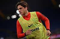 Nicolo Zaniolo of AS Roma warms up <br /> Roma 11-3-2019 Stadio Olimpico Football Serie A 2018/2019 AS Roma - Empoli<br /> Foto Andrea Staccioli / Insidefoto