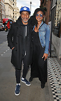 "Danny John-Jules and Petula Langlais at the ""Dark Sublime"" gala performance, Trafalgar Studios, Whitehall, London, England, UK, on Monday 01st July 2019.<br /> CAP/CAN<br /> ©CAN/Capital Pictures"