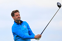 Paul Buckley (USA) on the 9th tee during Round 2 of The East of Ireland Amateur Open Championship in Co. Louth Golf Club, Baltray on Sunday 2nd June 2019.<br /> <br /> Picture:  Thos Caffrey / www.golffile.ie<br /> <br /> All photos usage must carry mandatory copyright credit (© Golffile   Thos Caffrey)
