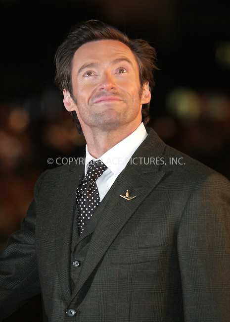 "Hugh Jackman at the premiere of ""Australia"" in London - 10 December 2008 ..FAMOUS PICTURES AND FEATURES AGENCY 13 HARWOOD ROAD LONDON SW6 4QP UNITED KINGDOM tel +44 (0) 20 7731 9333 fax +44 (0) 20 7731 9330 e-mail info@famous.uk.com www.famous.uk.com .FAM24869"