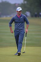 Denny McCarthy (USA) watches his putt on 1 during Round 3 of the Valero Texas Open, AT&T Oaks Course, TPC San Antonio, San Antonio, Texas, USA. 4/21/2018.<br /> Picture: Golffile | Ken Murray<br /> <br /> <br /> All photo usage must carry mandatory copyright credit (© Golffile | Ken Murray)