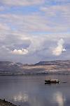 Israel, Sea of Galilee, the coast of Capernaum