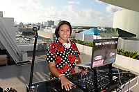 MIAMI BEACH, FL - OCTOBER 05: She-J Hercules performs for a portrait during the Empire Records DJ party held at Skydeck on October 5, 2018 in Miami Beach, Florida. <br /> CAP/MPI04<br /> &copy;MPI04/Capital Pictures