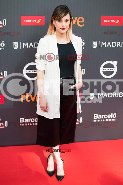 "Natalia de Molina attends to the presentation of the ""Premios Platino"" at Palacio de Cristal in Madrid. April 07, 2017. (ALTERPHOTOS/Borja B.Hojas) (NortePhoto.com)"