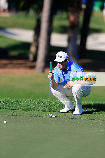 Greg Chalmers (AUS) during the second round at the The Honda Classic 2014, PGA National, Palm Beach, Florida,USA.<br /> Picture: Fran Caffrey www.golffile.ie