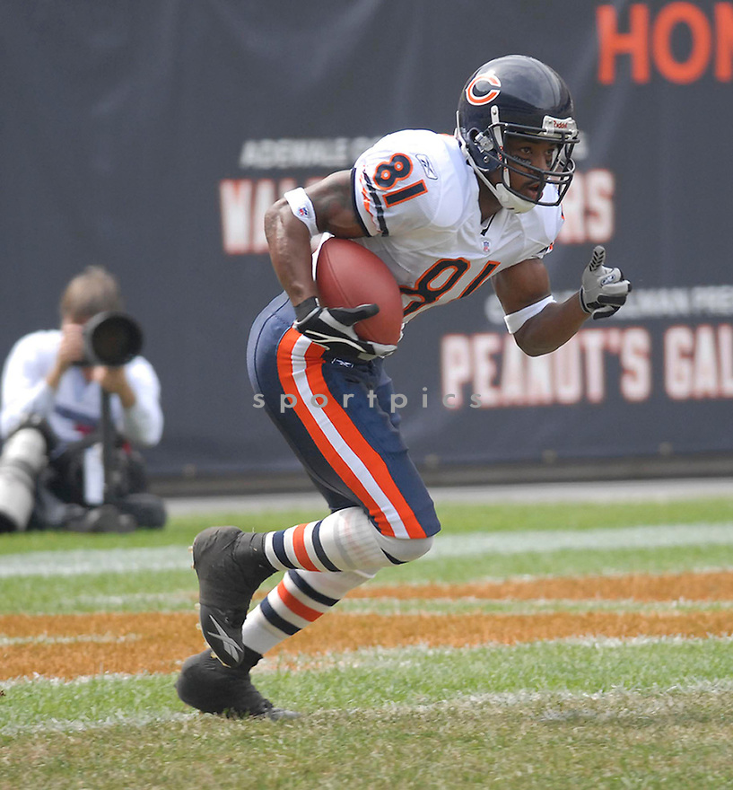 RASHIED DAVIS, of the Chicago Bears, in action against the Detroit Lions on September 17, 2006 in Chicago..Bears win 34-7..Chris Bernacchi / SportPics