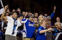 SANTA CLARA, CA - SEPTEMBER 18:  San Jose Earthquakes tie the Colorado Rapids 1-1 at Buck Shaw Stadium in Santa Clara, CA . FRIDAY, SEPTEMBER 18, 2009. PHOTO BY DON FERIA