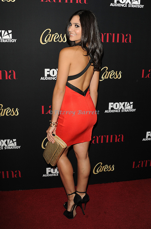 Camila Banus arriving at the Latina Magazine Host Hollywood Hot List Party held at  The Sunset Tower Hotel Los Angeles, CA. October 2, 2014.