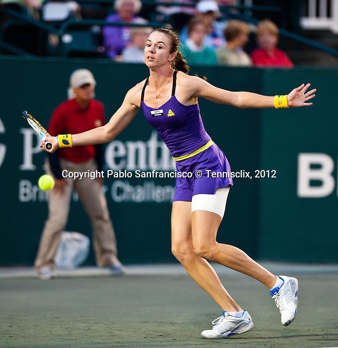 Galina Voskoboeva at the Family Circle Cup in Charleston, South Carolina on April 5, 2012