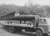 BNPS.co.uk (01202 558833)<br /> Pic: LashendenMuseumCollection/BNPS<br /> <br /> The Lashenden museum rescued the badly decaying V1 in 1970.<br /> <br /> An incredibly-rare Kamikaze-version of Adolf Hitler's deadly V1 terror weapon is about to go on display at a British museum 47 years after it was saved from destruction.<br /> <br /> The piloted 'Doodlebug' was effectively a one ton suicide bomb designed to strike at specific targets like Buckingham Palace and the Houses of Parliament.<br /> <br /> Unlike the extremely inaccurate unmanned version, these V1's were designed to be dropped from Heinkel bombers and then piloted directly onto their targets, but fortunately although 175 were made they were never put to use.<br /> <br /> One of the handfull that exist today belongs to the Lashenden Aviation Museum in Kent which have spent &pound;40,000 having it restored and are about to put it on display in a new purpose built hangar.