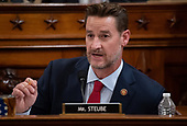 United States Representative Greg Steube (Republican of Florida), questions witnesses during a US House Judiciary Committee hearing on the impeachment of US President Donald Trump on Capitol Hill in Washington, DC, December 4, 2019.<br /> Credit: Saul Loeb / Pool via CNP