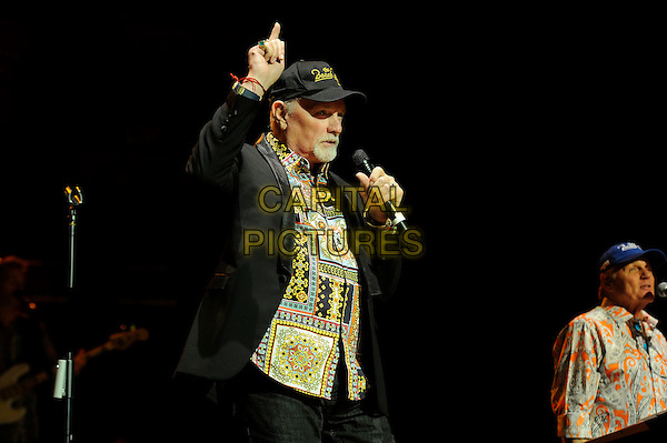 LONDON, ENGLAND - MAY 31: Mike Love and Bruce Johnston of 'The Beach Boys' performing at Royal Albert Hall on May 2931, 2015 in London, England.<br /> CAP/MAR<br /> &copy; Martin Harris/Capital Pictures