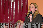 Toireasa Ferris CONCERNS: Some of the attendance at the Castleisland By-pass public meeting in Castleisland on Wednesday night..