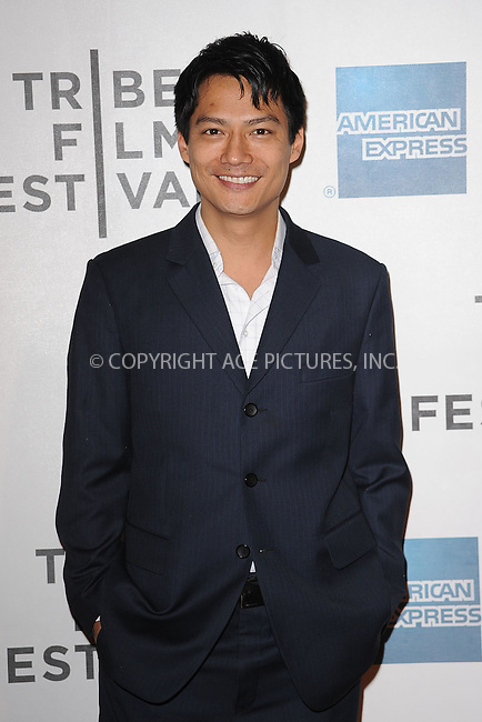 WWW.ACEPIXS.COM . . . . . .April 23, 2011...New York City...Archie Kao attends the premiere of 'Jesus Henry Christ' during the 2011 Tribeca Film Festival at BMCC Tribeca PAC on April 23, 2011 in New York City....Please byline: KRISTIN CALLAHAN - ACEPIXS.COM.. . . . . . ..Ace Pictures, Inc: ..tel: (212) 243 8787 or (646) 769 0430..e-mail: info@acepixs.com..web: http://www.acepixs.com .