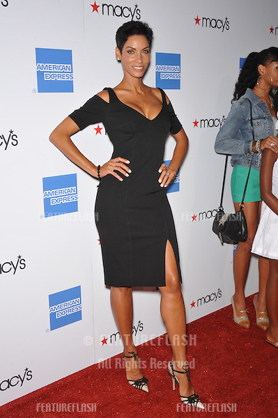 Nicole Murphy (former wife of Eddie Murphy) at the Macy's Passport 2009 Fashion Show at Barker Hanger, Santa Monica Airport..The annual event raises funds for HIV/AIDS organizations..September 24, 2009  Santa Monica, CA.Picture: Paul Smith / Featureflash