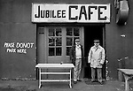 The Jubilee Cafe and proprietors, Borough Market, London.