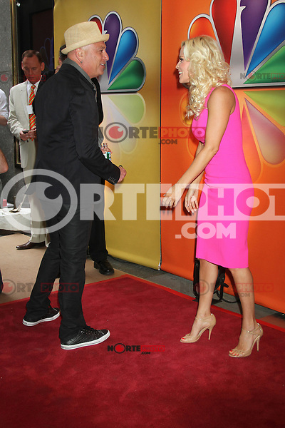 Howie Mandel and Jenny McCarthy at NBC's Upfront Presentation at Radio City Music Hall on May 14, 2012 in New York City. ©RW/MediaPunch Inc.